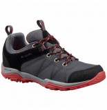 Columbia Wandelschoen women's fire venture textile graphite sunset red grijs