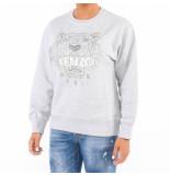 Kenzo Siver tiger sweatshirt grijs