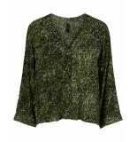 Y.A.S Blouse 26015969 yasshannen groen