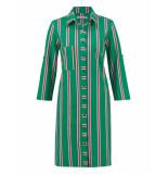 Studio Anneloes Jurk 03434 loopy stripe groen