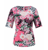 Studio Anneloes Top 03430 bente flower roze