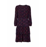 Lollys Laundry 19385 2062 johanne dress jurk blauw