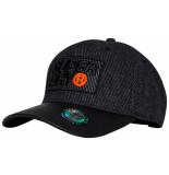 Superdry Winter baseball cap charcoal grijs