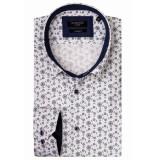 Giordano Lange mouw overhemd 917807/75 overhemd wit