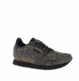 Woden Sneakers 231-5-154 zwart