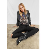 Anine Bing Tiger sweatshirt zwart