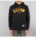 G-Star Heavy sherland sweat zwart