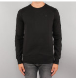 G-Star Heavy sherand sweat zwart