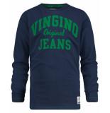 Vingino T-shirt jeriah blauw