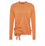 DIDI Pullover met strikdetail geel