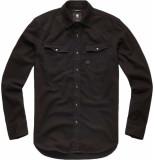 G-Star 3301 slim shirt l\s zwart