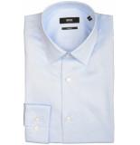 Hugo Boss Isko overhemd 503160/450 overhemd licht blauw