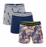 Muchachomalo Boys 3-pack short free like a bird