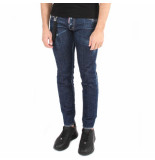 Dsquared2 5 pocket jeans blauw