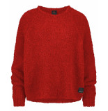 Penn & Ink Pullover w19l100 rood
