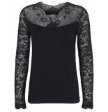 Minus Shirt mi2753 vanessa zwart