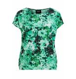 Object Objsana urban ss top 104 div 23031198 fern green/aop groen