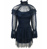 Goldie Estelle Clover jurk - blauw