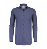 Blue Industry Overhemd shirt blauw