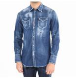 Dsquared2 Camicia blauw