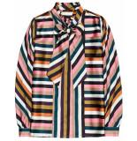10 Feet Multi colour striped blouse