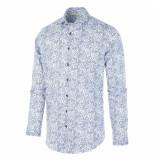 Blue Industry 1262.92 shirt white blauw