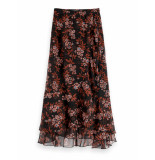 Scotch & Soda 152581 22 printed maxi rok combo f