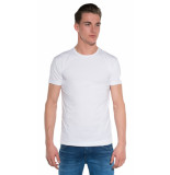 Alan Red Derby t-shirts 2-pack wit