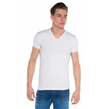Alan Red Dean t-shirt 2-pack met korte mouwen wit