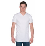 Alan Red Vermont t-shirt 2-pack extra lang wit