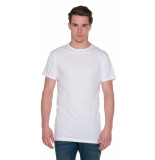 Alan Red Derby t-shirt 2-pack extra lang wit