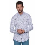 Vanguard Casual overhemd met lange mouwen wit