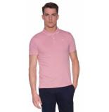 Dstrezzed Polo met lange mouwen roze