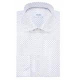 Eton Slim fit overhemd met lange mouwen wit