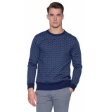 The GoodPeople Must variant sweater blauw