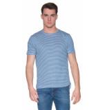 The GoodPeople Soleil t-shirt met korte mouwen blauw