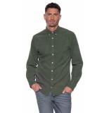 Tommy Hilfiger Casual overhemd met lange mouwen groen
