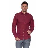 Tommy Hilfiger Casual overhemd met lange mouwen rood