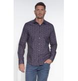 Vanguard Casual shirt met lange mouwen blauw