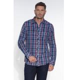 PME Legend Casual overhemd met lange mouwen blauw