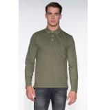 Denham T-shirt met lange mouwen groen