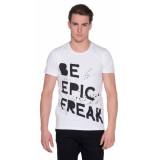 Minimum T-shirt met korte mouwen wit