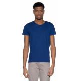 Scotch & Soda T-shirt met korte mouwen blauw