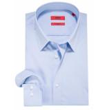 Hugo Extra slim fit overhemd met lange mouwen licht blauw