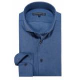 Drykorn Elias casual shirt met lange mouwen blauw