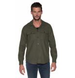 Closed Casual overhemd met lange mouwen groen