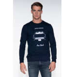 The GoodPeople Sweater blauw