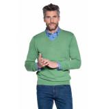 Campbell Trui v-hals groen