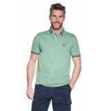 Campbell Polo met korte mouwen groen