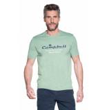 Campbell T-shirt met korte mouwen groen